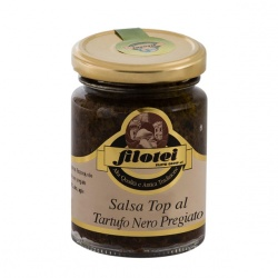 Black truffle top sauce